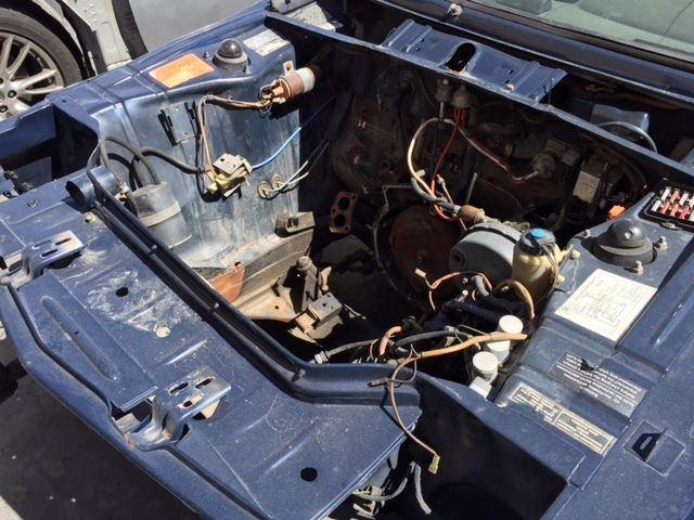 1974 BMW 2002 e10 Parts Car