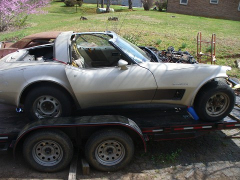 1982 Chevrolet Corvette Collectors Edition project for sale