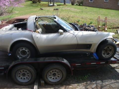1982 Chevrolet Corvette Collectors Edition project for sale