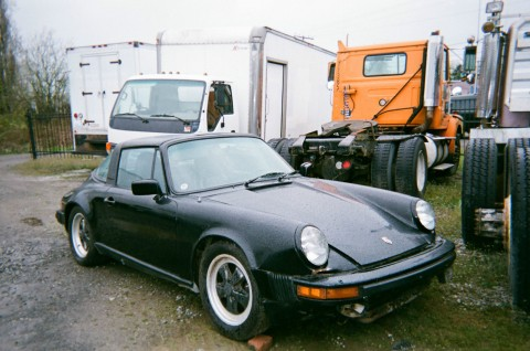 1982 Porsche 911 Targa Convertible Restoration Project for sale