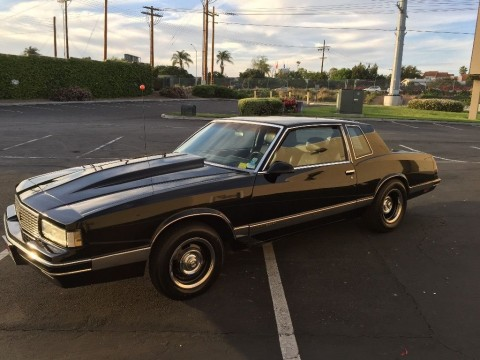 1987 Chevrolet Monte Carlo Luxury sport for sale