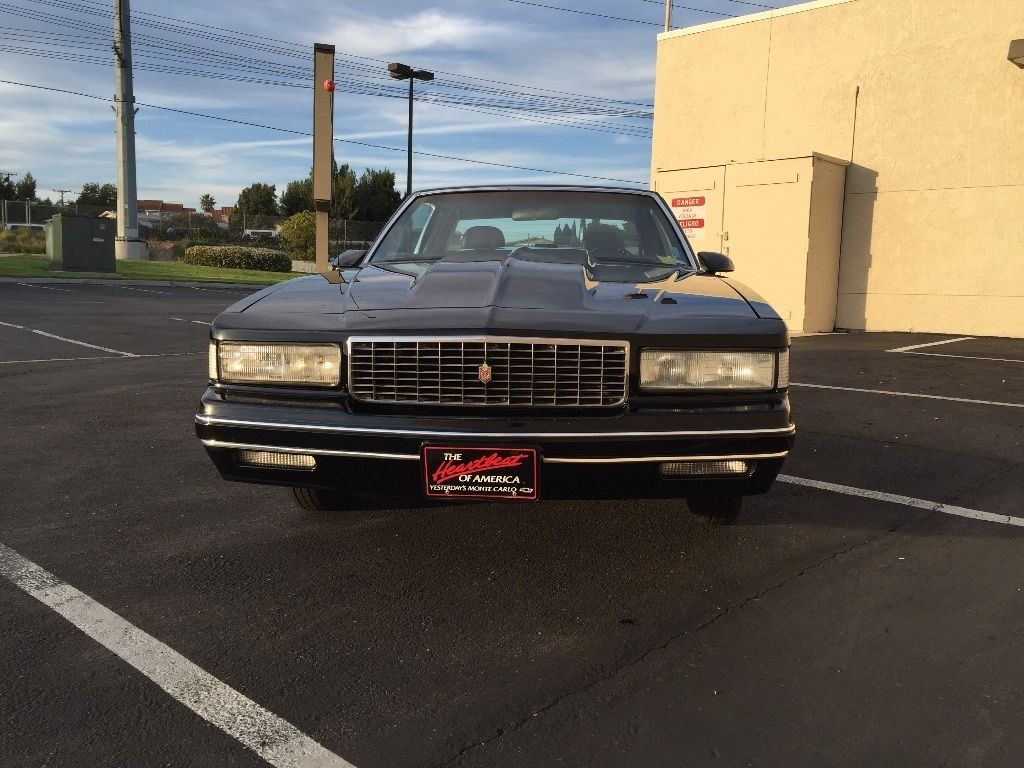 1987 Chevrolet Monte Carlo Luxury sport