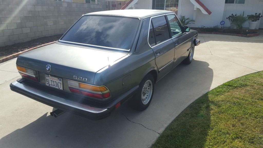1988 BMW 5 Series E28