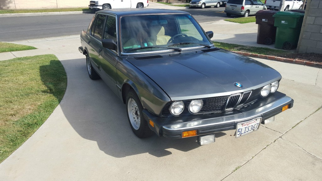 1988 Bmw 5 Series E28 For Sale