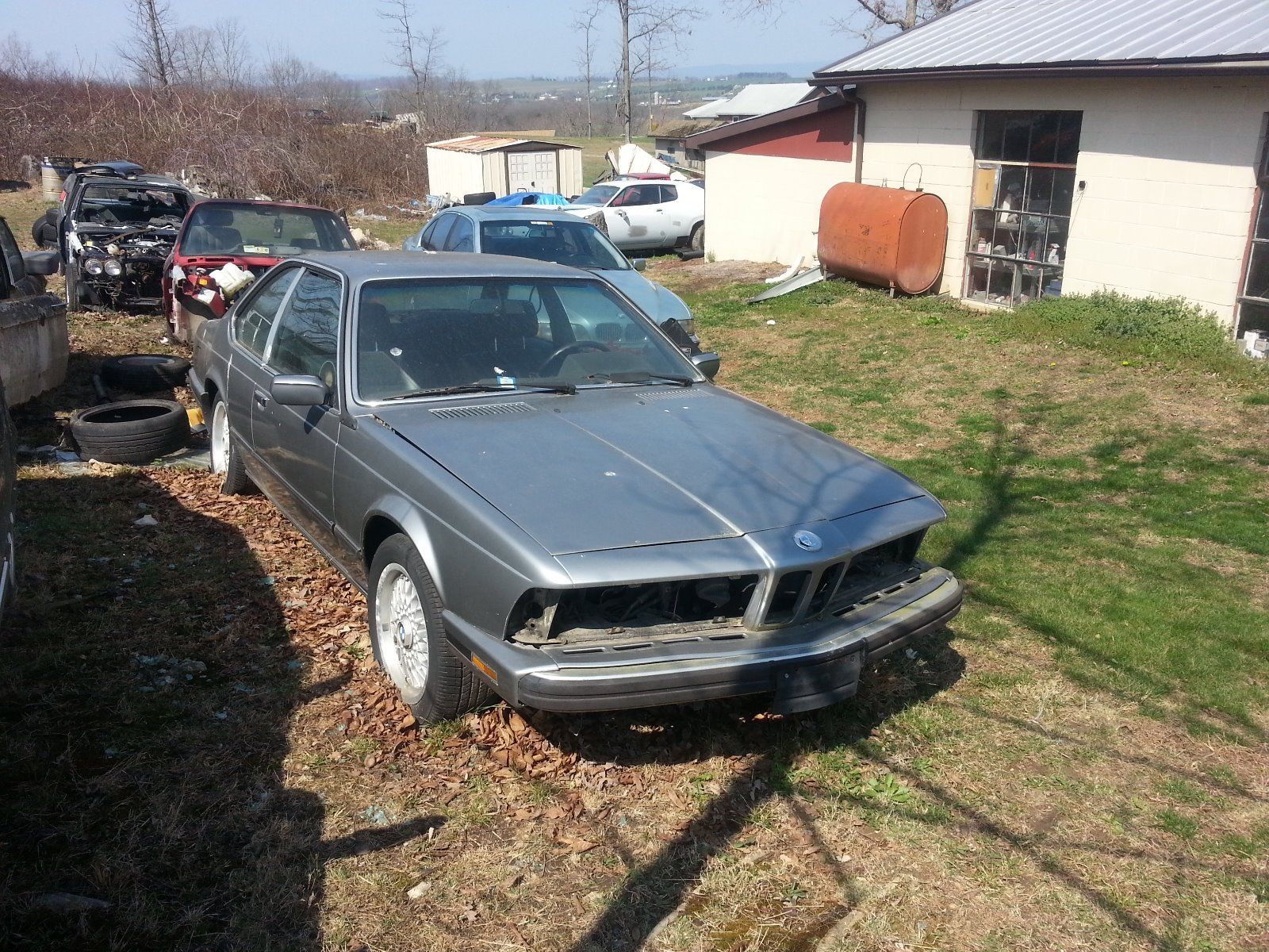 1988 Bmw E24 635 Csi Parts Car For Sale