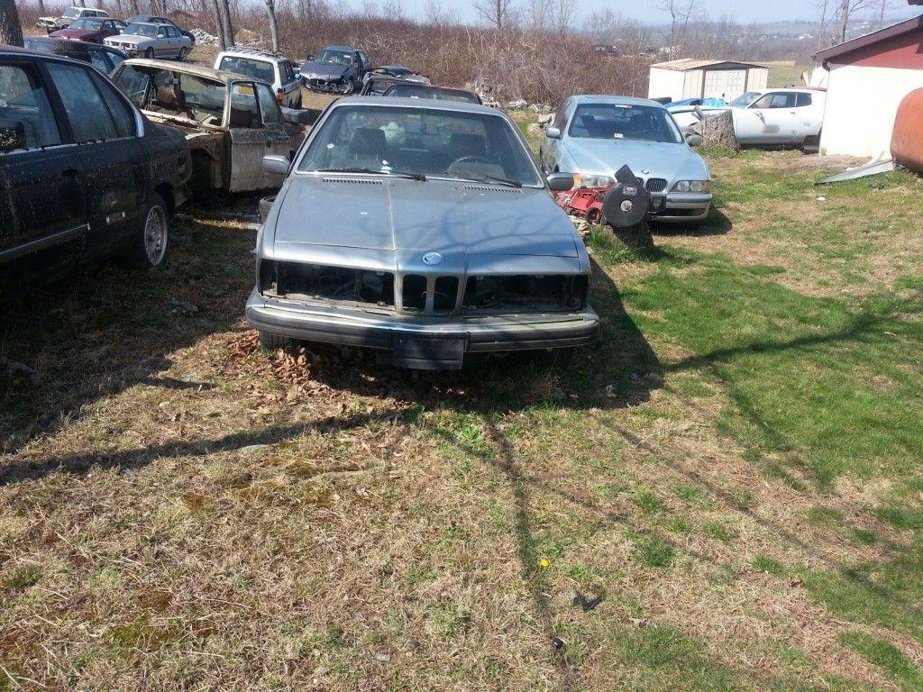 1988 Bmw E24 635 Csi Parts Car For Sale