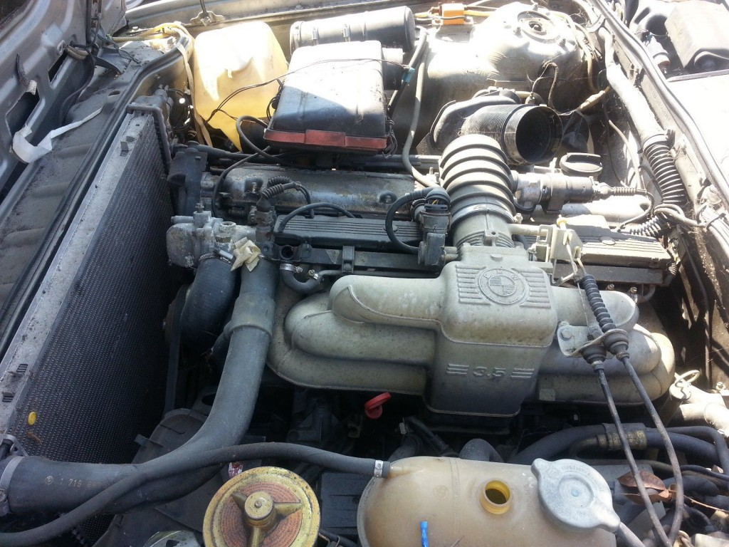 1988 BMW E24 635 CSI Parts car