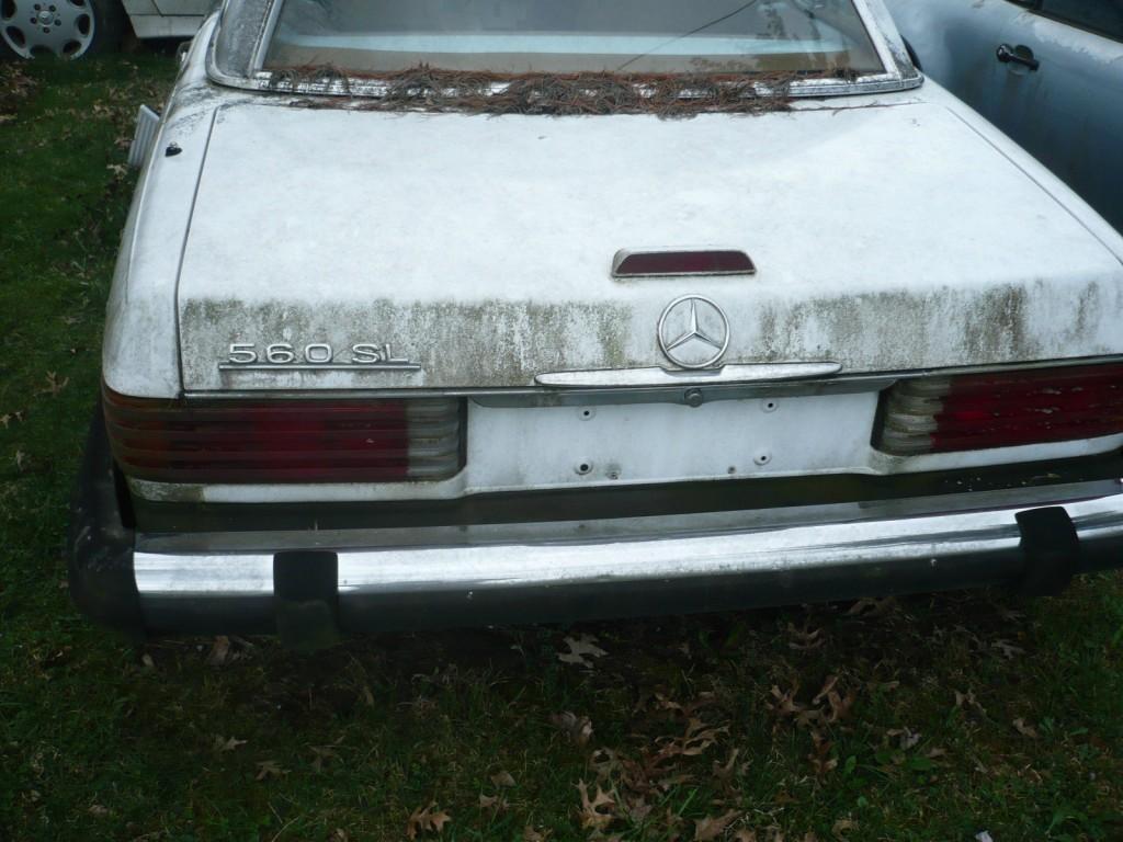 1988 Mercedes Benz 560SL Convertible 5.6L