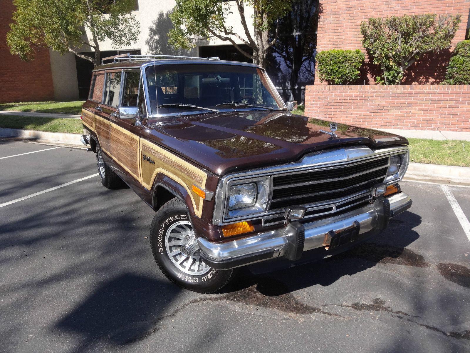 1989 jeep grand wagoneer 5 9l for sale. Black Bedroom Furniture Sets. Home Design Ideas