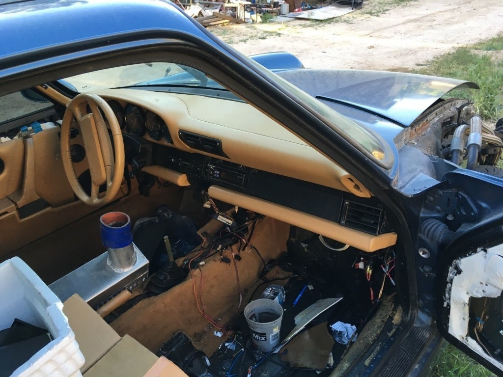 1989 Porsche 911 964 C4 Twin Turbo Monster Project