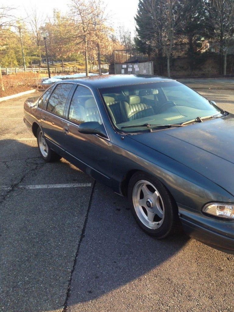 1996 Chevrolet Impala SS JON A. MOSS SIGNATURE