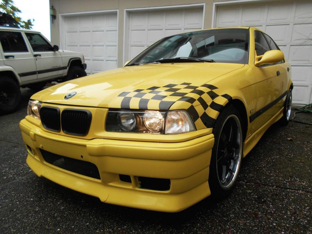 1997 BMW M3 E36 Dakar