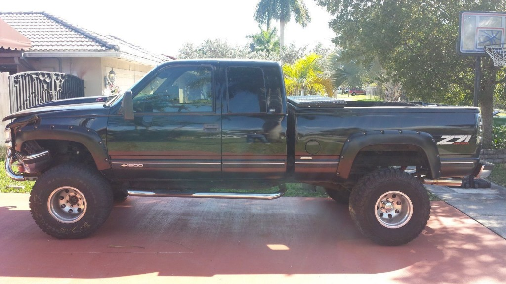 1997 chevrolet silverado 1500 z71 4x4 for sale. Black Bedroom Furniture Sets. Home Design Ideas
