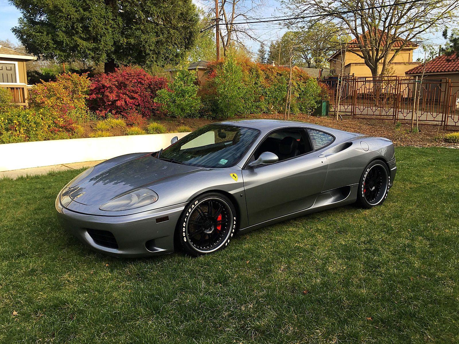 Salvage Title Cars For Sale >> 2000 Ferrari 360 Modena F1 for sale