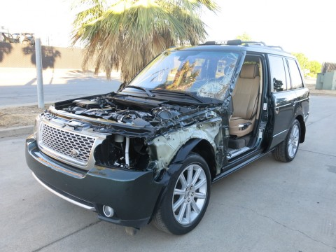 2011 Land Rover Range Rover HSE Supercharged Salvage for sale