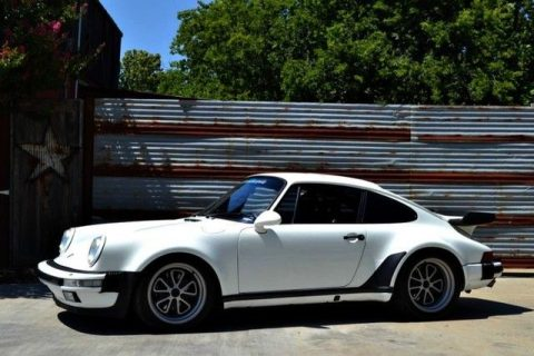 1988 Porsche 930 Turbo Carrera Salvage car for sale