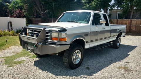 1997 Ford F250 XLT Salvage title for sale