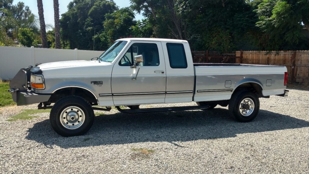 1997 Ford F250 XLT Salvage title