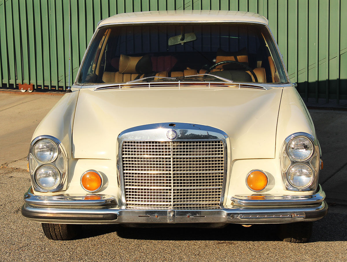 Salvage 1970 mercedes benz 280s for sale for Salvage mercedes benz