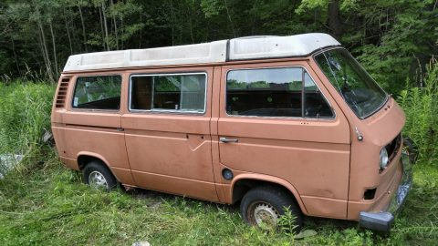 Salvage 1980 Volkswagen Vanagon Westfalia for sale
