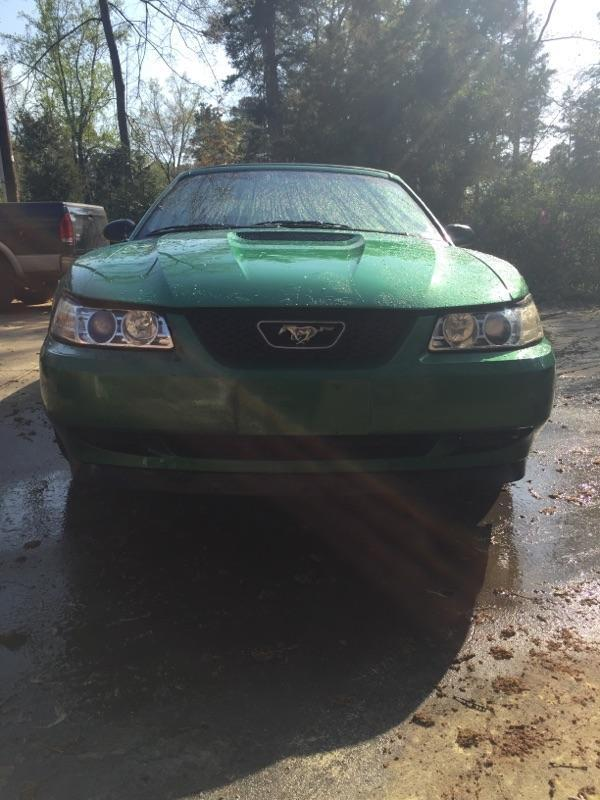 Salvage title 1999 Ford Mustang Convertible