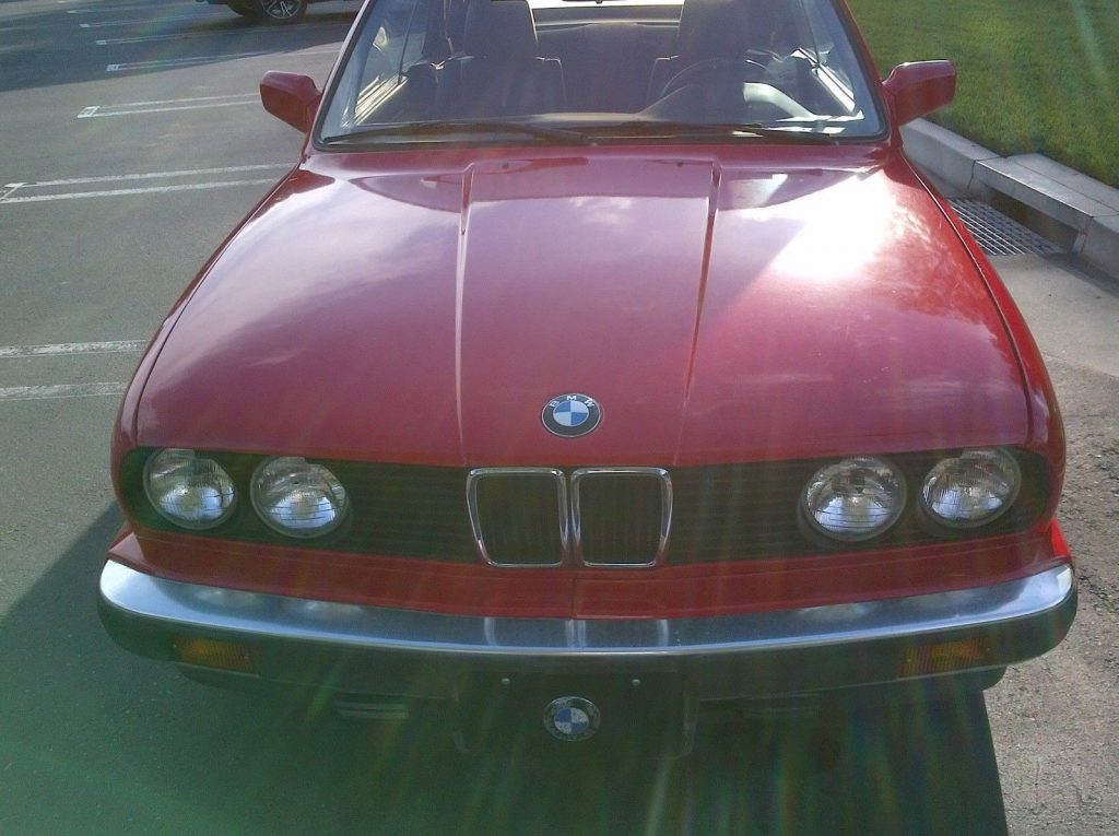 Very dependable 1991 BMW 3 Series convertible