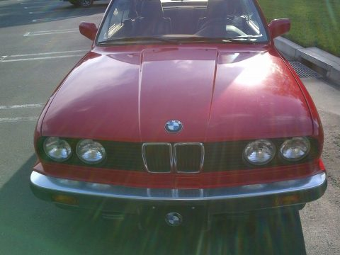 Very dependable 1991 BMW 3 Series convertible for sale