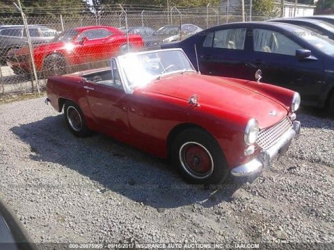 GREAT 1966 Austin Healey Sprite for sale