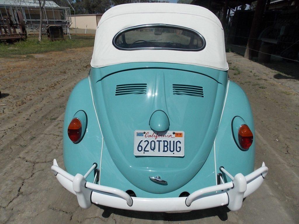 VERY RARE 1962 Volkswagen Beetle