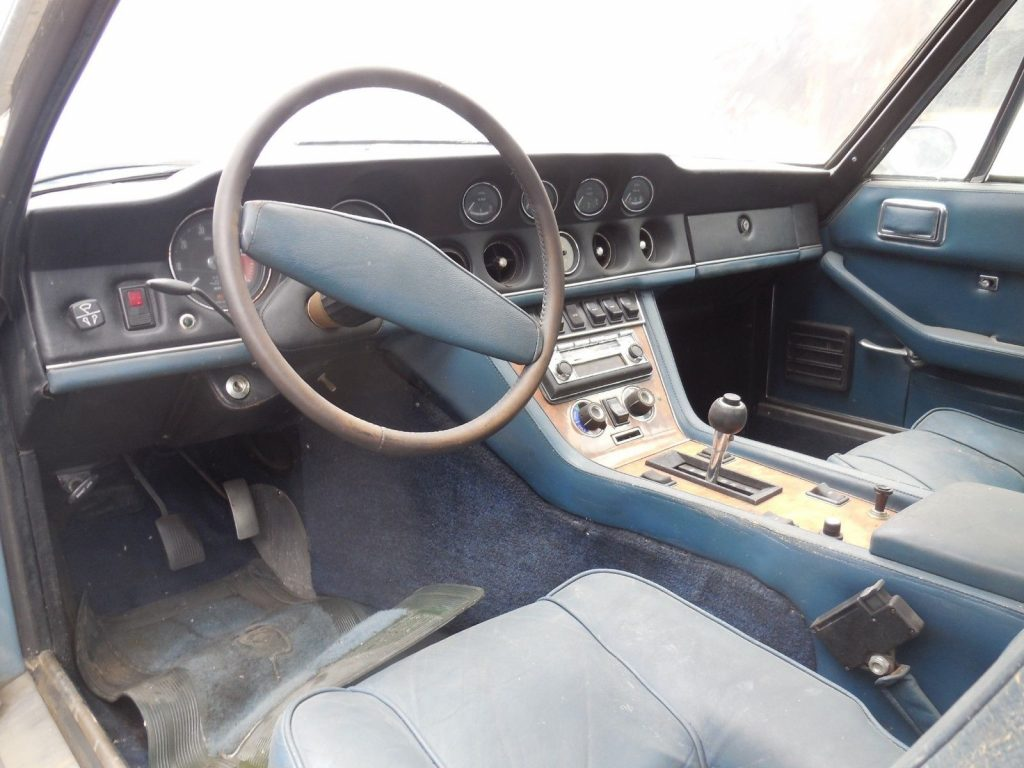 1971 Jensen Interceptor III Coupe Project Car for Restoration
